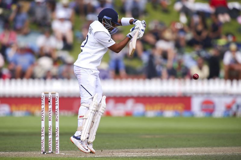 Prithvi Shaw was bowled in both the innings of the Adelaide Test.