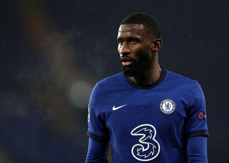 Chelsea defender Antonio Rudiger