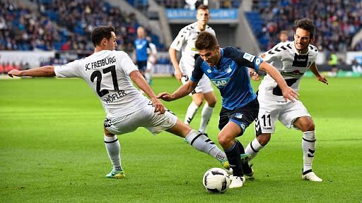 Hoffenheim play their first home game of 2021 against Freiburg