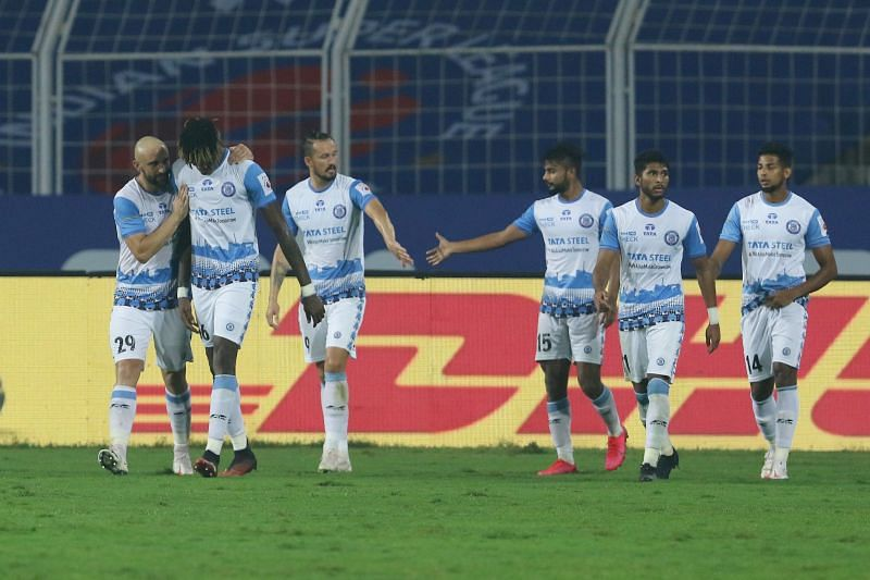 Jamshedpur FC moved to the third spot after this win. Courtesy: ISL