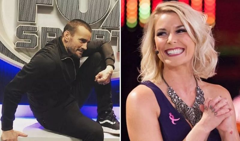 CM Punk and Renee Paquette