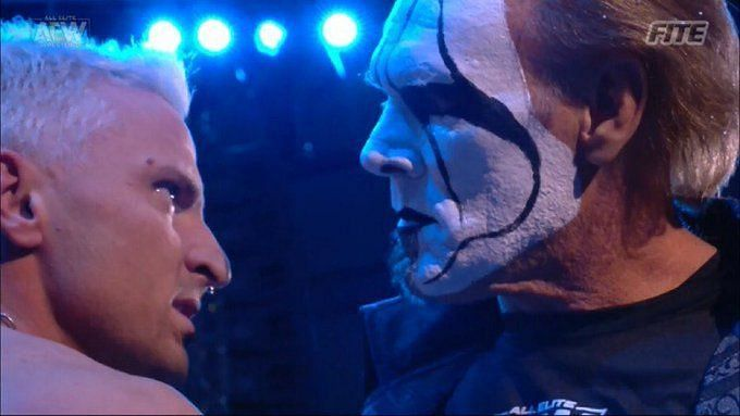 Darby Allin and Sting are headed towards a collision course