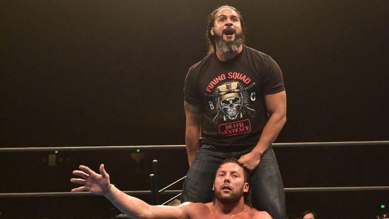 Tama Tonga and Kenny Omega in NJPW