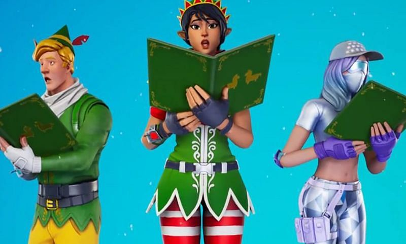 The Sing Along emote in Fortnite is available for players in the Item Shop (Image via Epic Games)