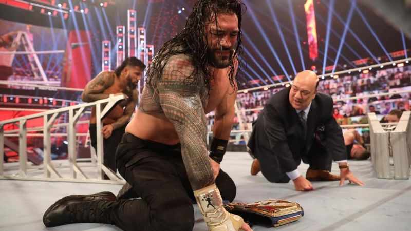 Roman Reigns, with Jey Uso, managed to defeat Kevin Owens