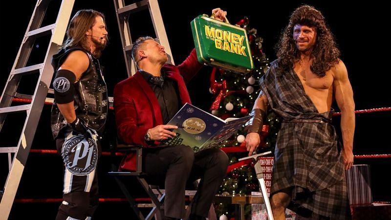 The Miz, John Morrison, and AJ Styles