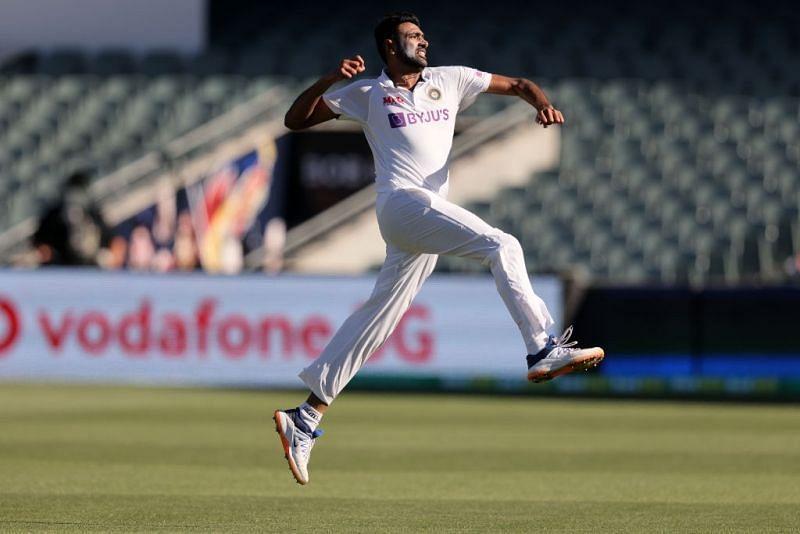 Ravichandran Ashwin was flying high at Adelaide: Pic: BCCI/Twitter