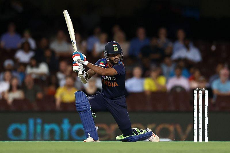 Shikhar Dhawan scored a half-century for the Indian team.