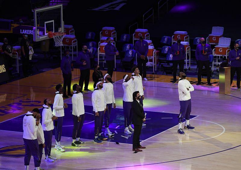 The LA Lakers won the 2019-20 NBA championship