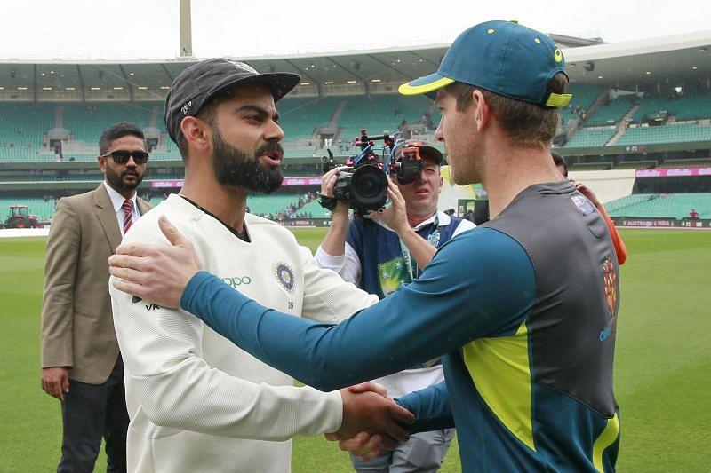 ऑस्ट्रेलिया vs भारत