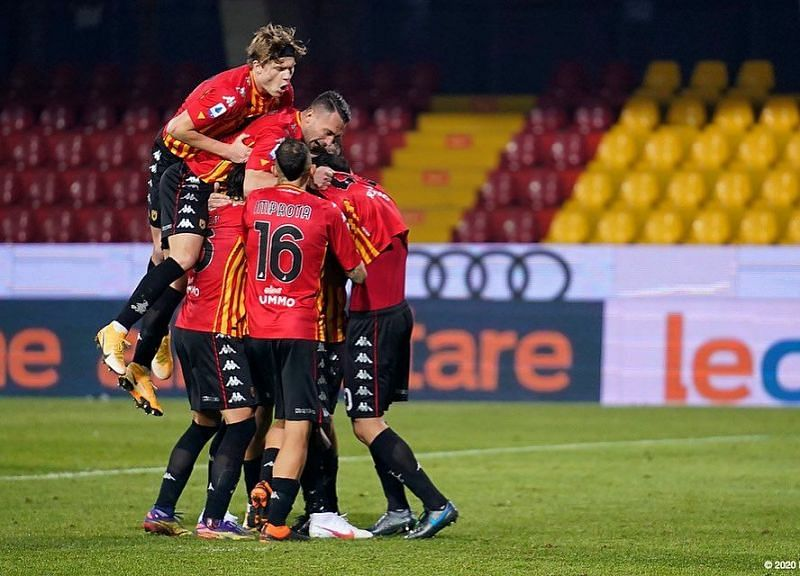 Benevento travel to Udinese in their upcoming Serie A fixture
