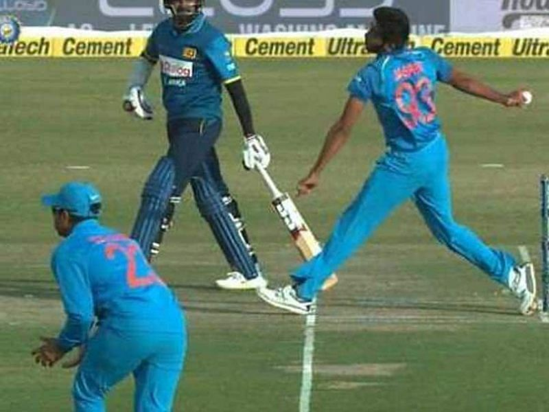 Free hits were first introduced for foot-fault no-balls in international cricket