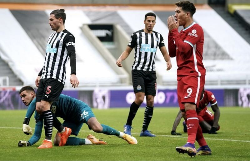 Liverpool draw again with Newcastle United