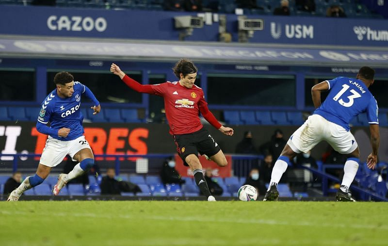 Edinson Cavani scored a stunner against Everton
