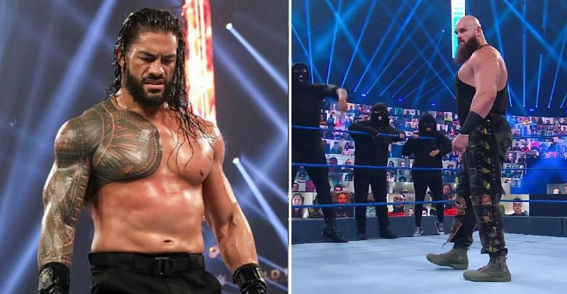 Roman Reigns and Braun Strowman were featured in three of the top five most-watched videos of 2020