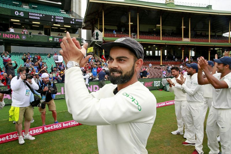 Virat Kohli will lead India in the first Test