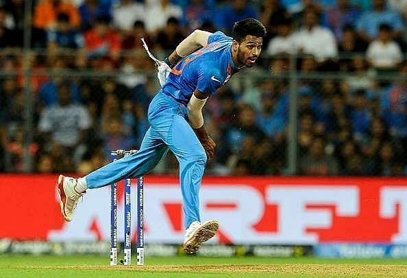 Hardik Pandya has bowled just the four overs on the Australian tour thus far