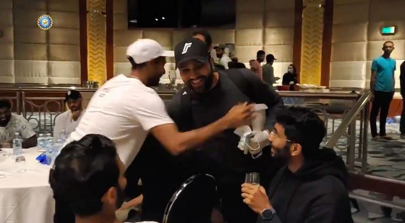Rohit Sharma had been in quarantine in Sydney for the last 14 days.