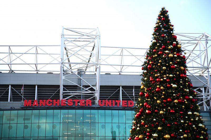Old Trafford on Christmas Day
