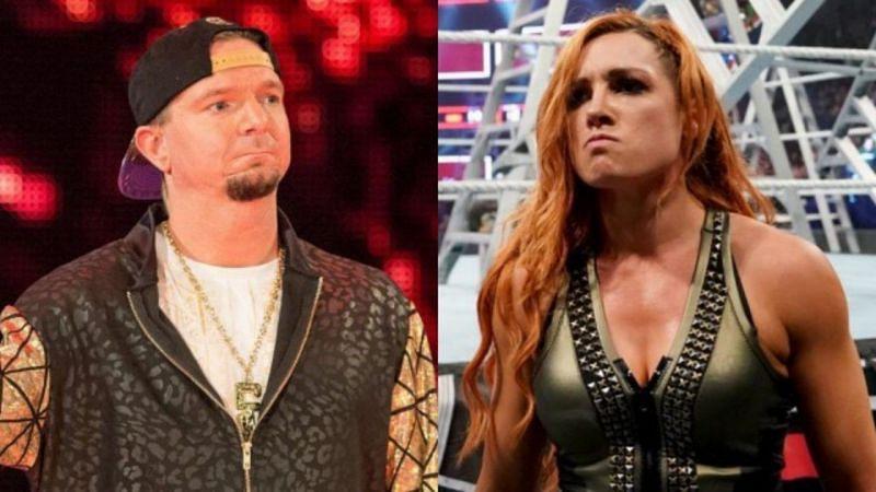 जेम्स एल्सवर्थ और बैकी लिंच के बीच WWE में मुकाबला हो चुका है