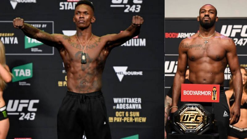 Israel Adesanya, Jon Jones