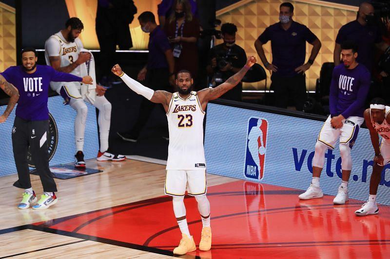 2020 NBA Finals - Game Six Angeles Lakers v Brooklyn Nets