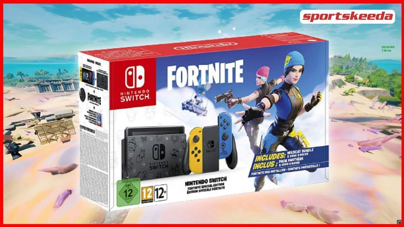 The Fortnite Wildcat bundle is a bundle available for Nintendo Switch players only (Image via Sportskeeda)
