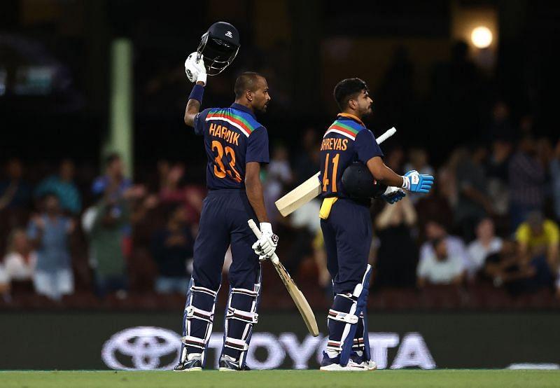 Hardik Pandya led India to victory against Australia
