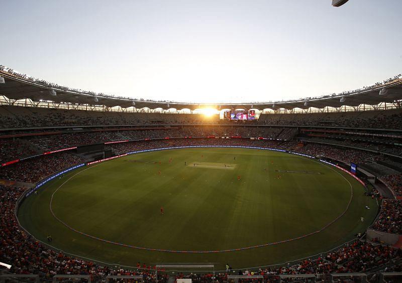 Perth Stadium are home to the Perth Scorchers in BBL