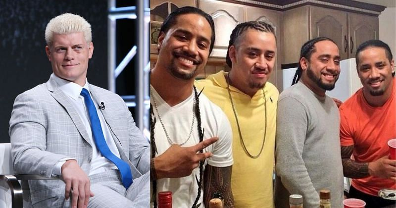 Cody and the Fatu brothers.