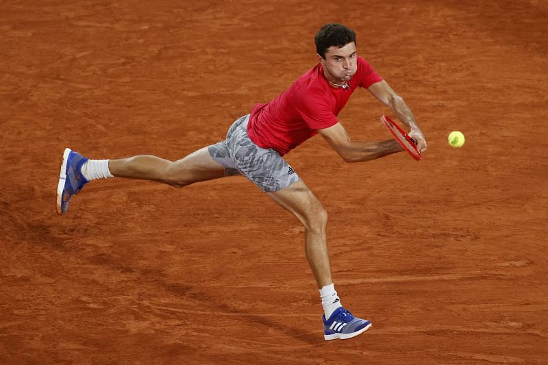 Gilles Simon at the 2020 French Open