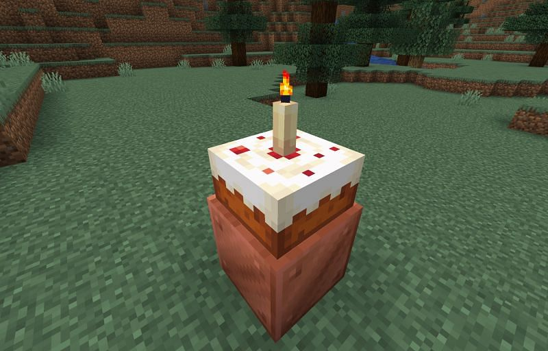 Games Right Now | Minecraft Cake candle