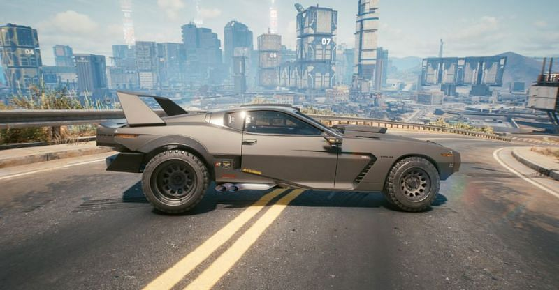 The cthulhu is the third car on the list and is a race car (Image via CD Projekt RED)