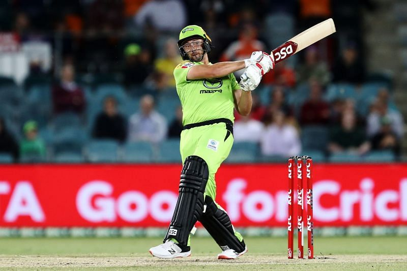 Daniel Sams powered the Sydney Thunder to victory