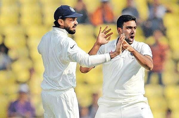 R Ashwin dismissed Steve Smith after the latter had scored a century