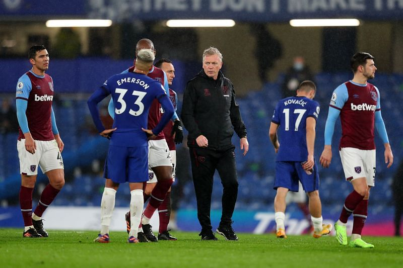 Chelsea defeated West Ham 3-0 at Stamford Bridge on Monday