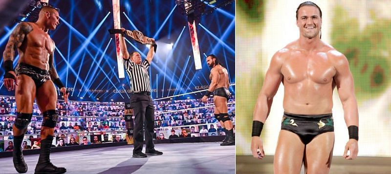 Drew McIntyre actually forgot his promo when working with Randy Orton