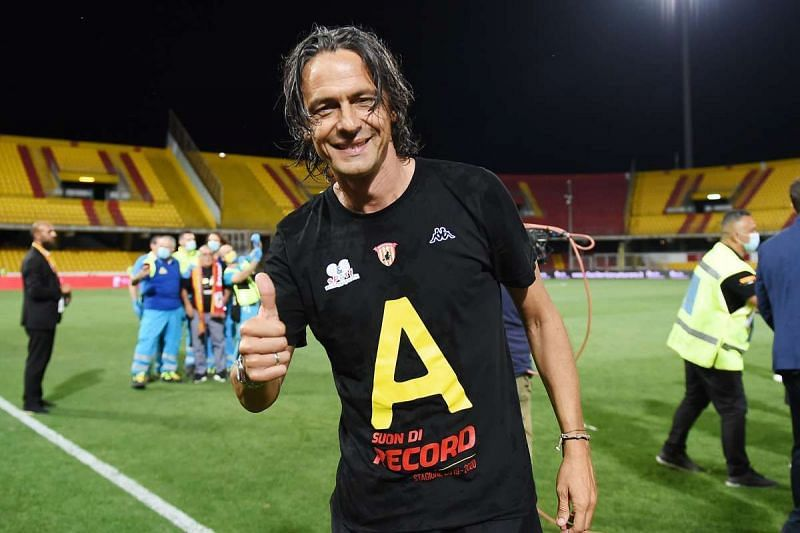 Filippo Inzaghi has helped Benevento maintain a mid-table status early on this season.