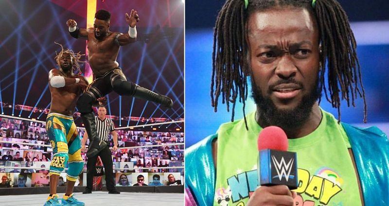 Kofi Kingston suffered broken teeth during his TLC 2020 match