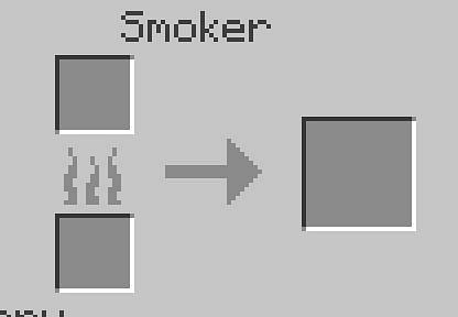 Um einen Smoker zu verwenden, betreten Sie die Crafting-Tabelle.png