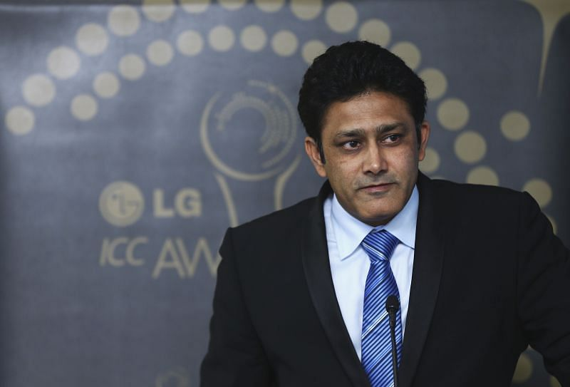 Anil Kumble defended India