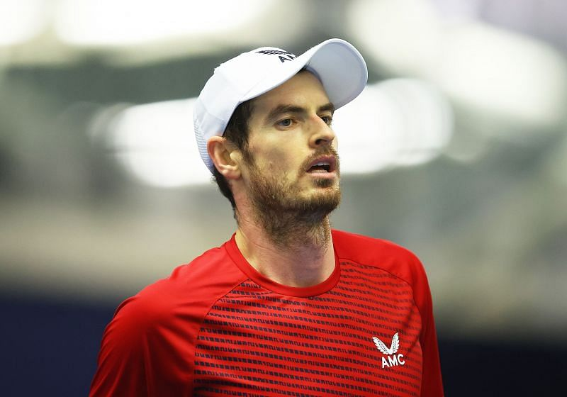 Andy Murray at the Battle of the Brits in London, England
