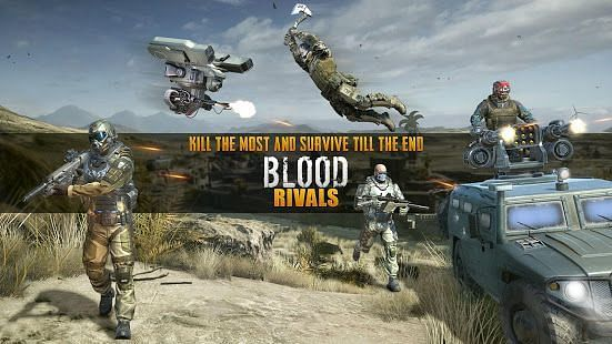 Blood Rivals – Survival Battleground FPS Shooter (Image via Google Play)