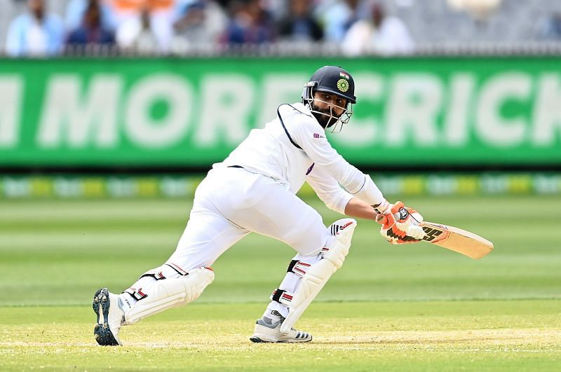 Ravindra Jadeja registered his 14th Test fifty