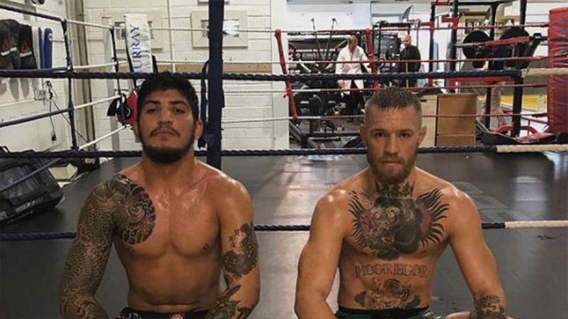 Dillon Danis and his friend Conor McGregor