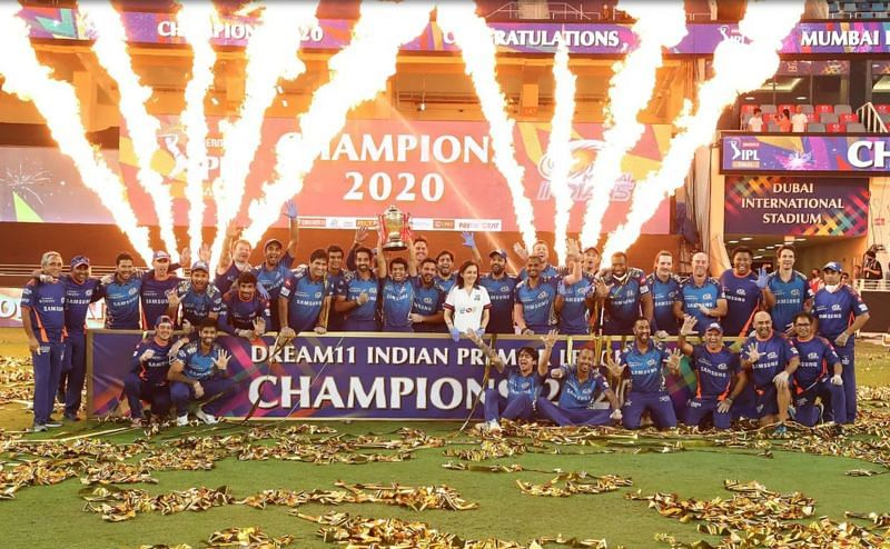 The Mumbai Indians won the 2020 IPL title