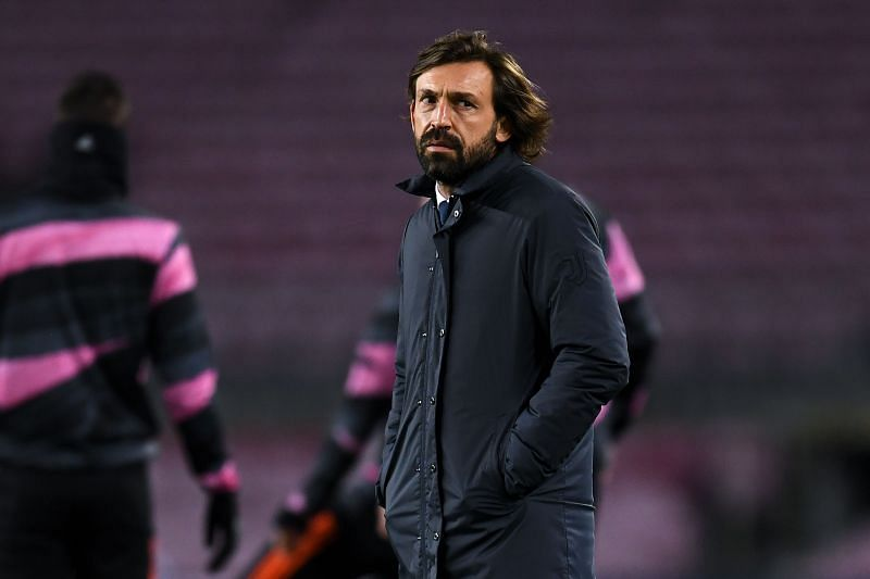 Andrea Pirlo is enuring an injury crisis at Juventus