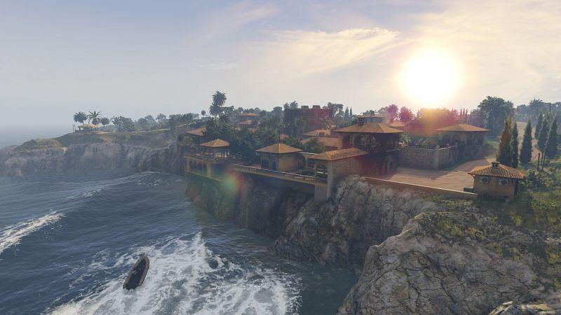 Cayo Perico Island (Image via Rockstar Games)