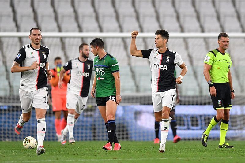 Juventus take on Atalanta this week