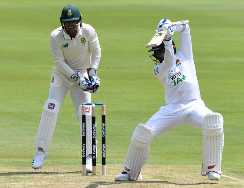 South Africa v Sri Lanka - First Test Day 1